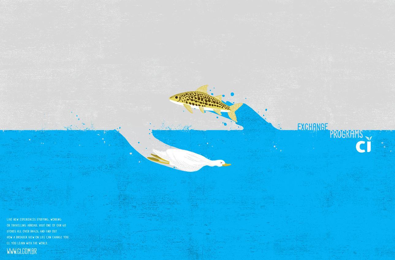 CI Print Ad -  Fish