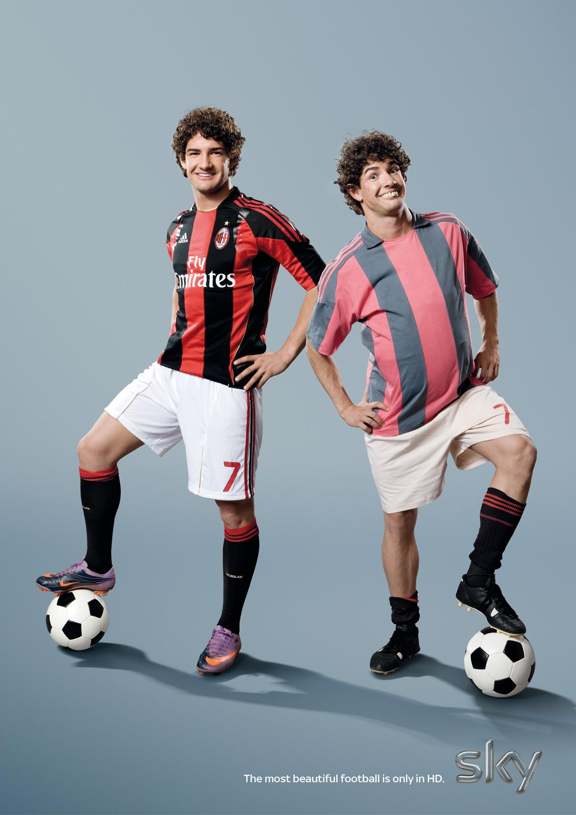SKY Print Ad -  The most beautiful football, Pato