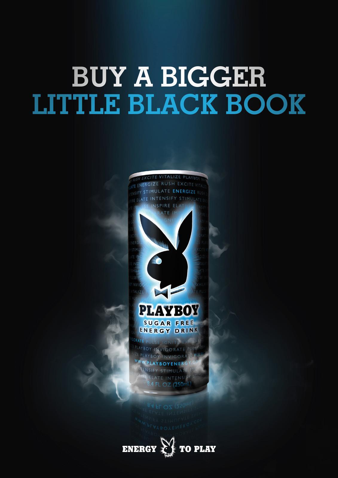 Playboy Print Ad -  Energy to play, 3