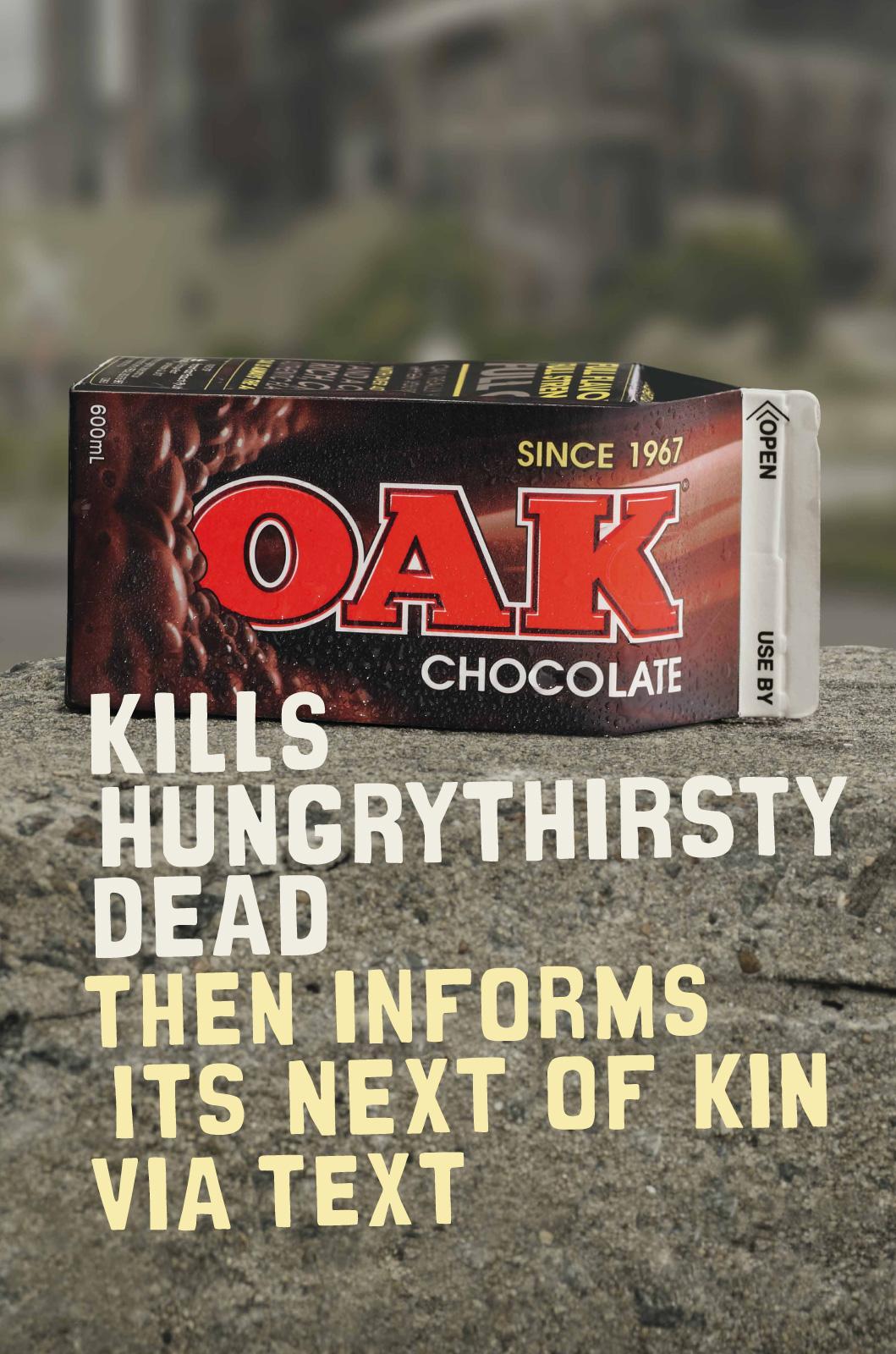 Oak Print Ad -  Next of kin