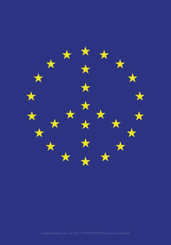 European Union Print Ad -  Peace