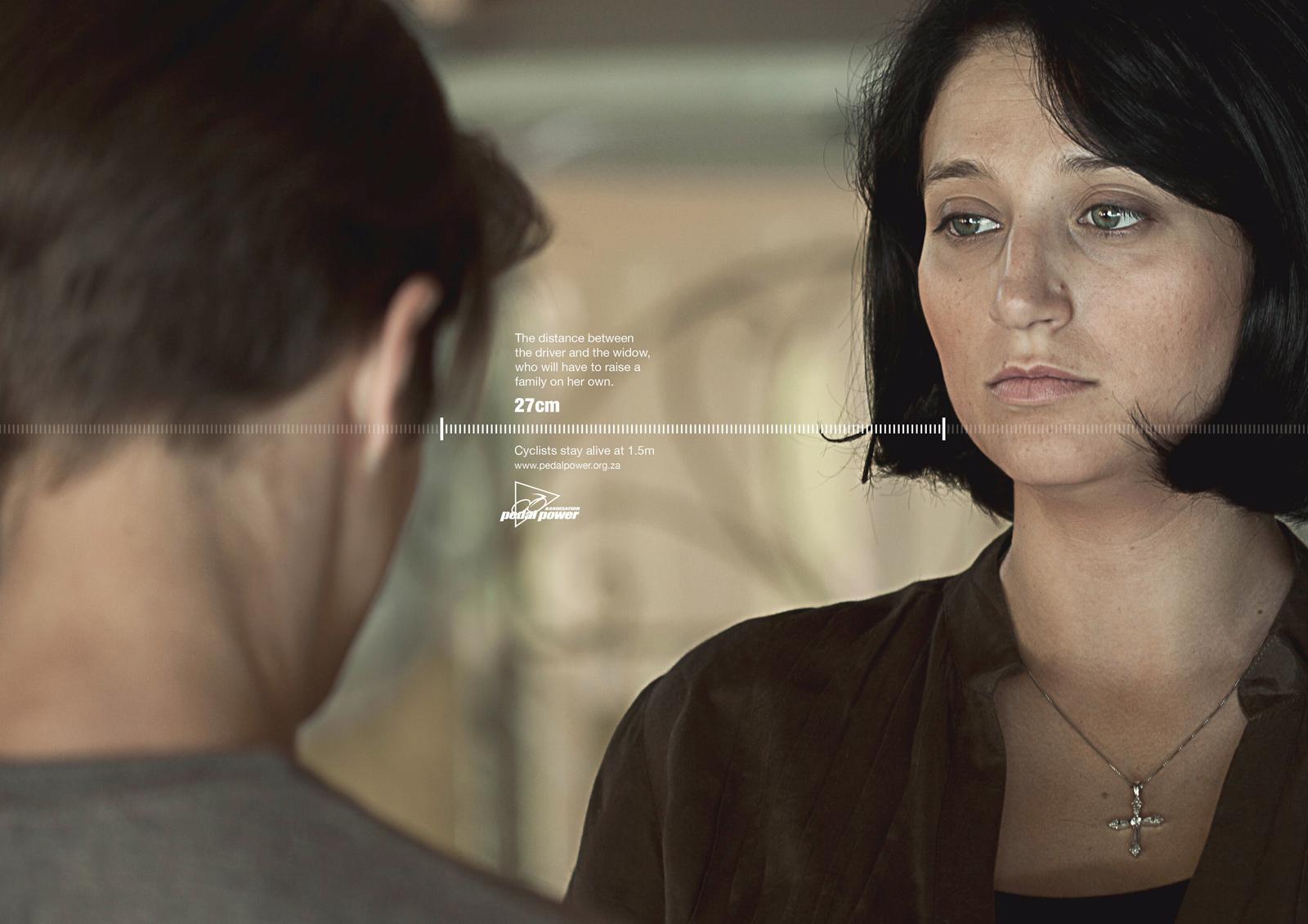 Pedal Power Print Ad -  Widow