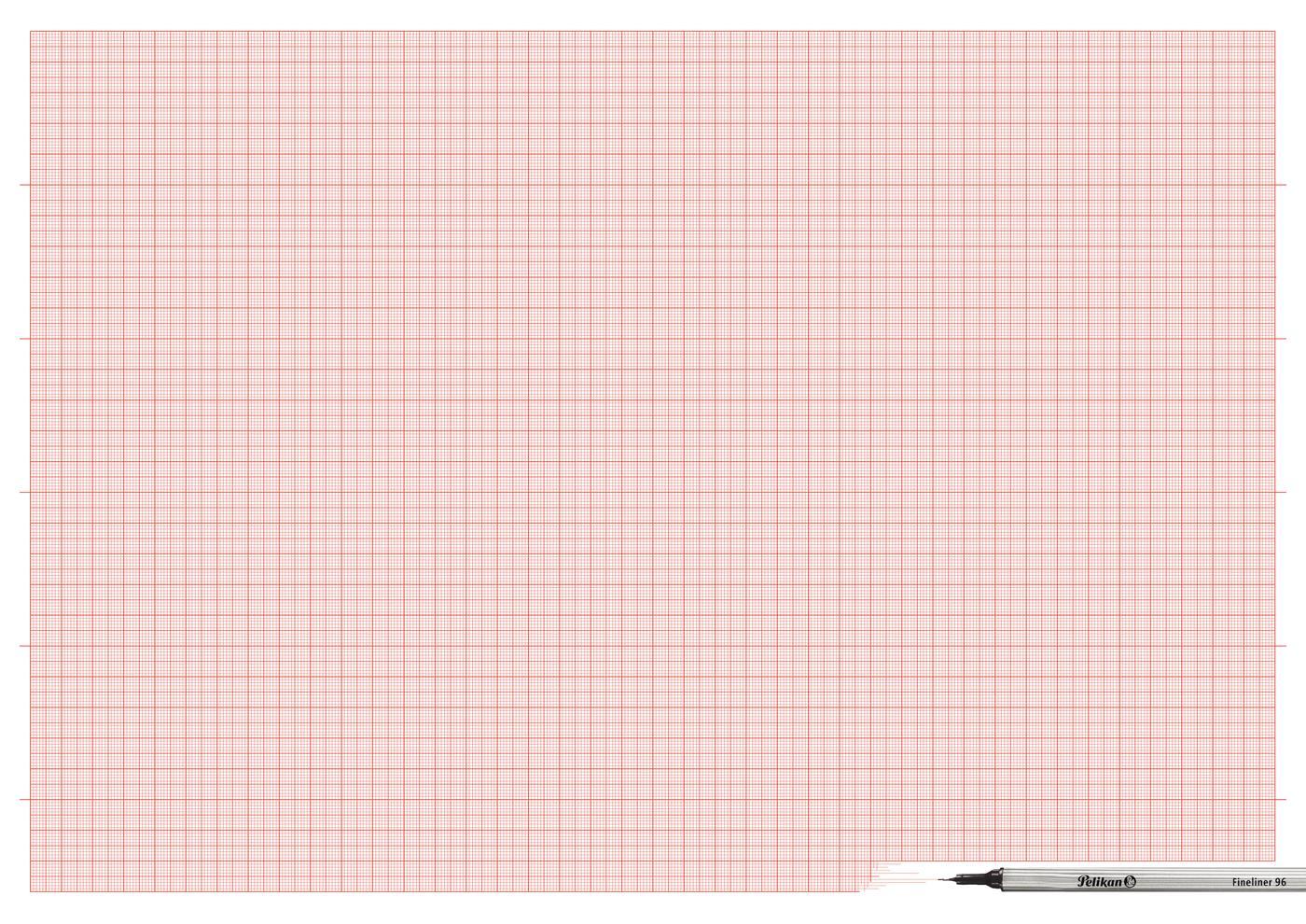 Pelikan Print Ad -  Plotting paper