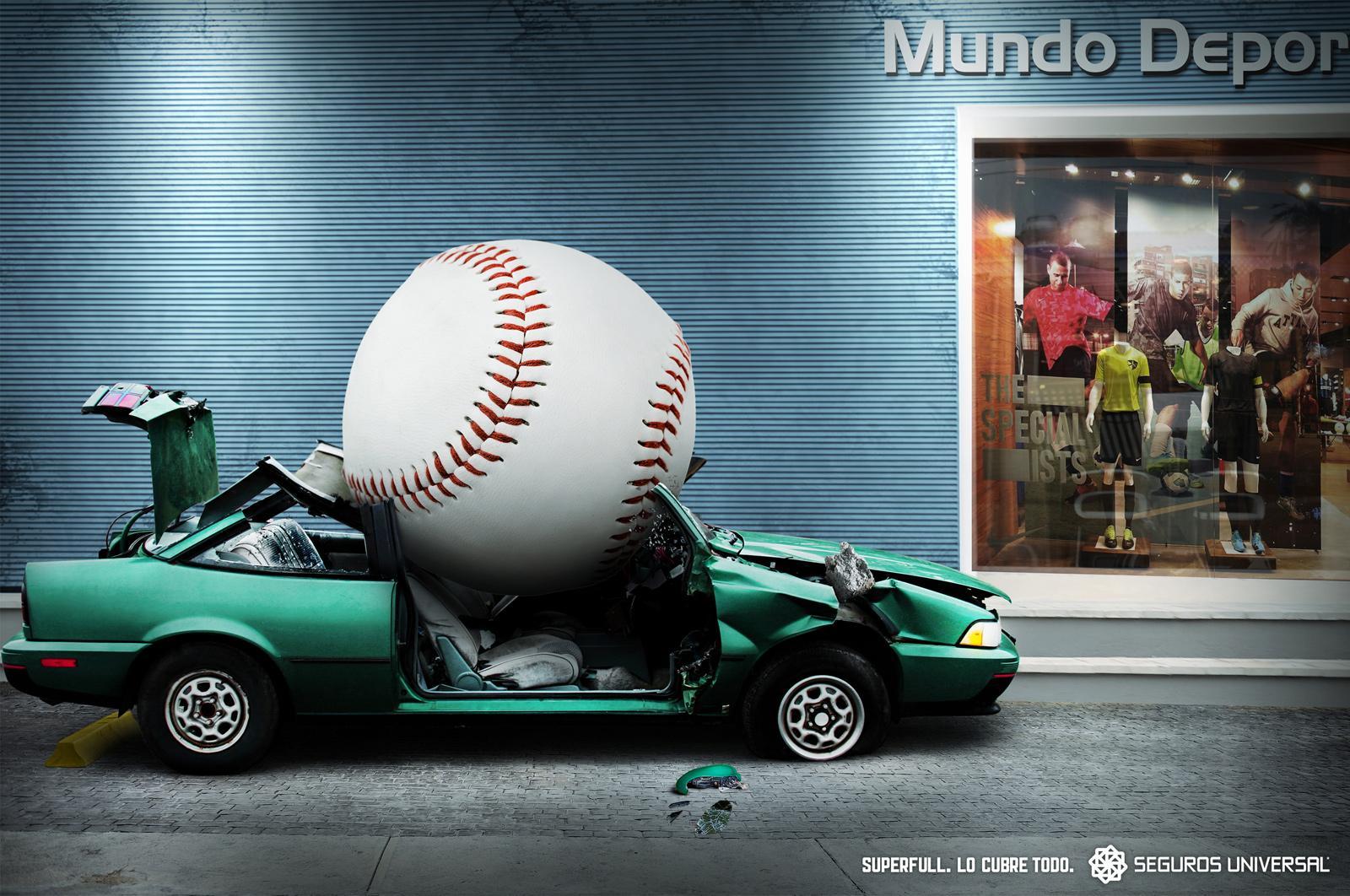 Universal Seguros Print Ad -  Ball