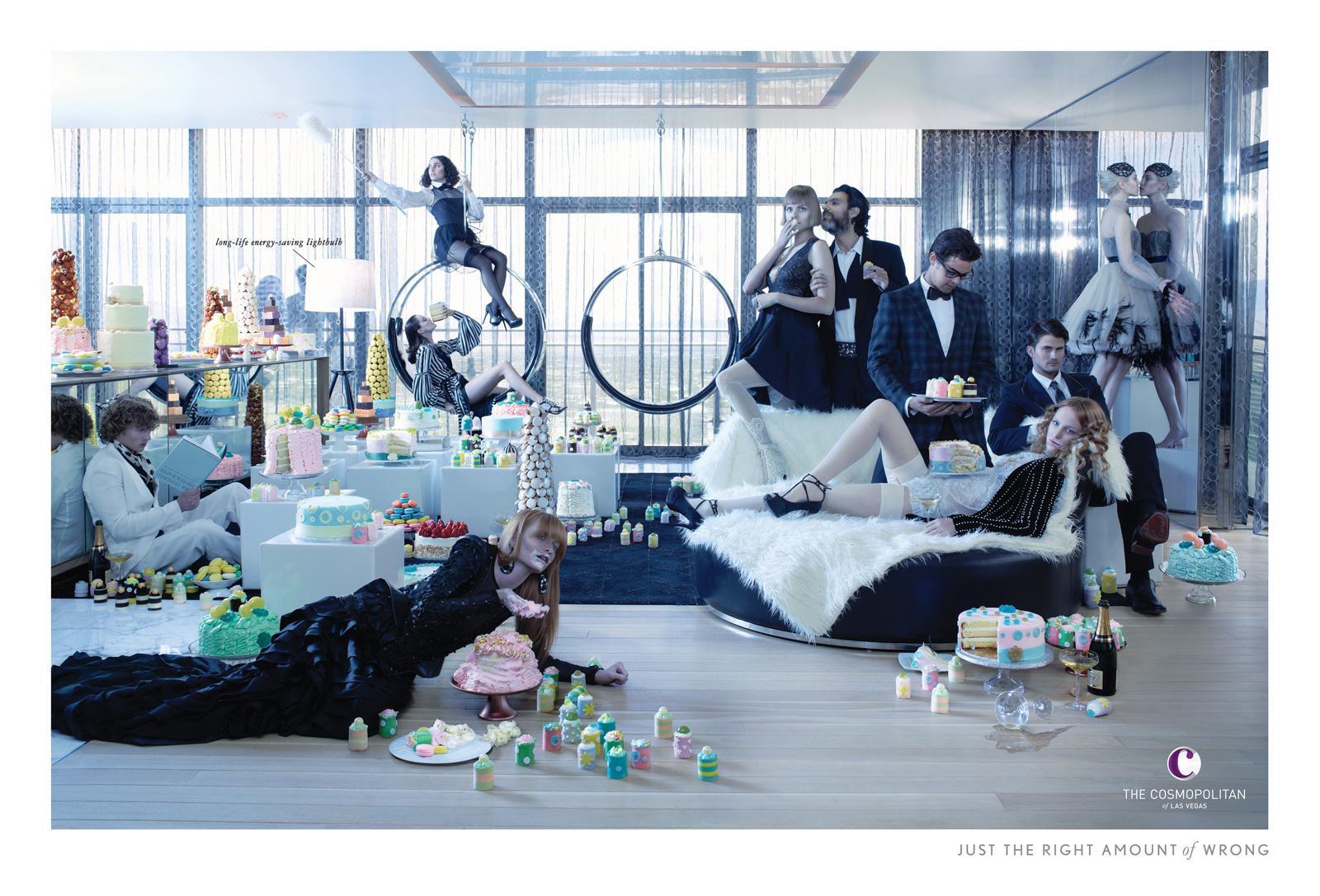 The Cosmopolitan Print Ad -  Penthouse