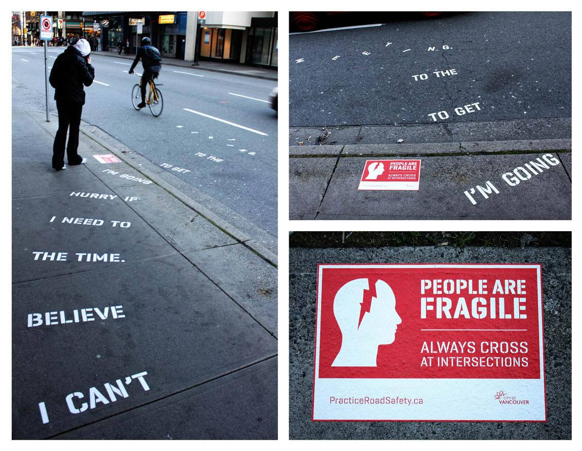 People are Fragile Ambient Ad -  Meeting