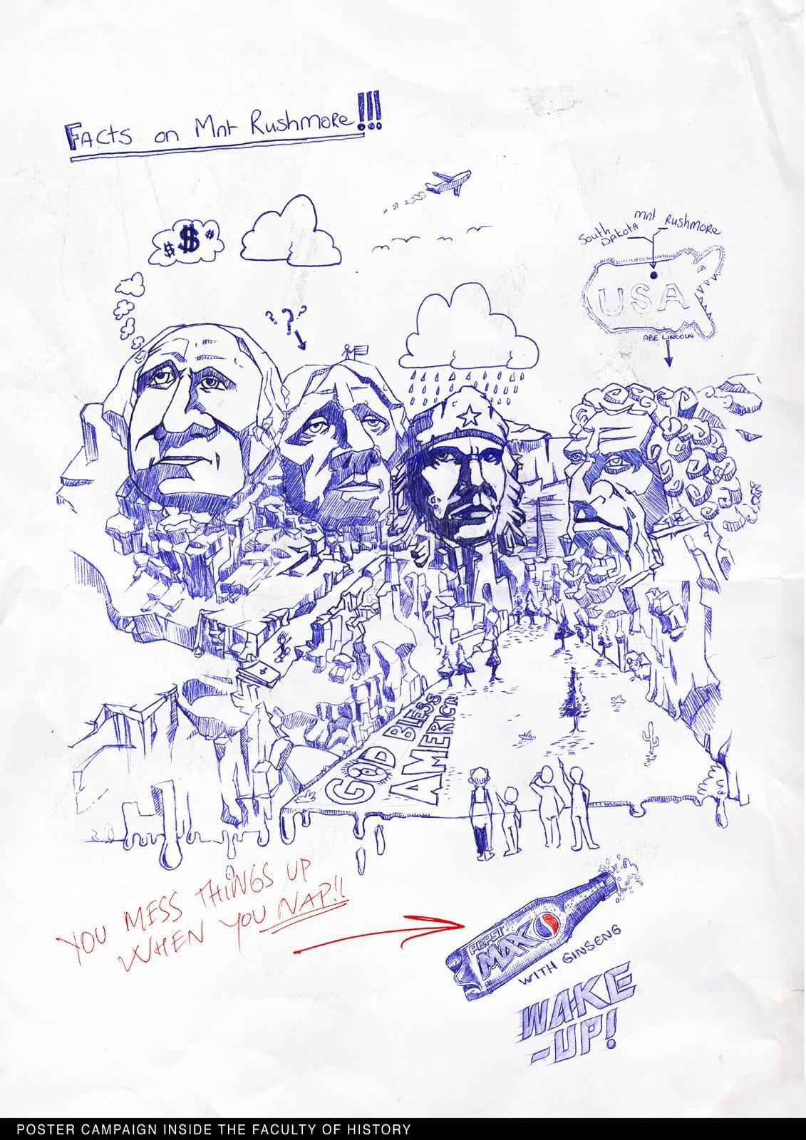 Pepsi Print Ad -  Che Guevara