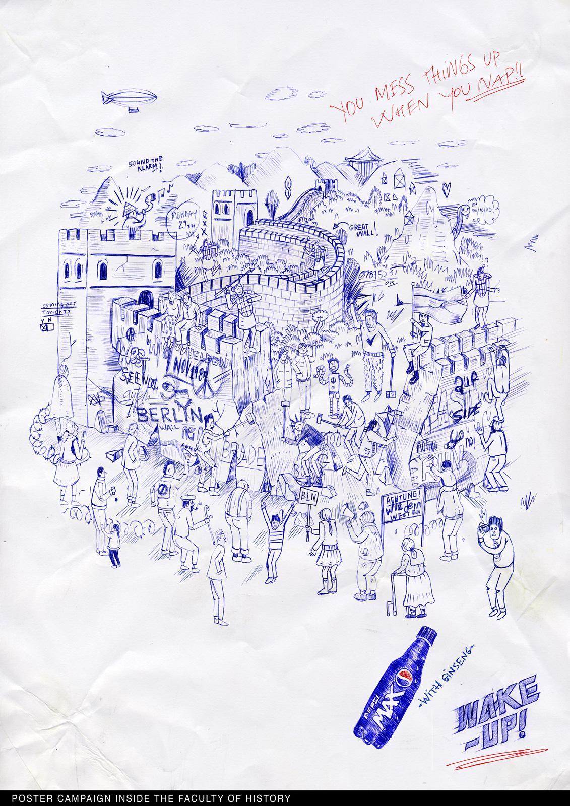 Pepsi Print Ad -  Great Wall