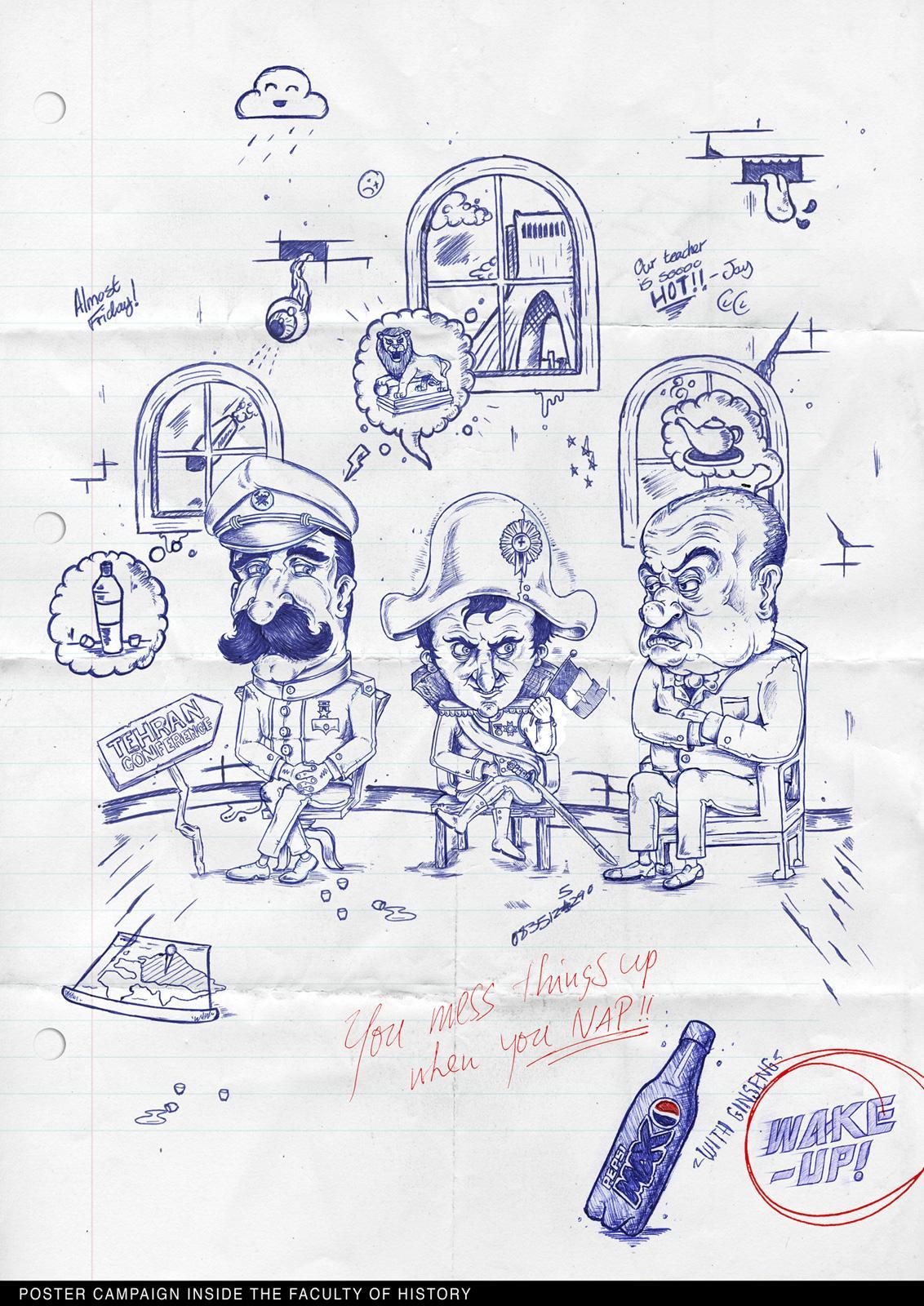 Pepsi Print Ad -  Napoleon