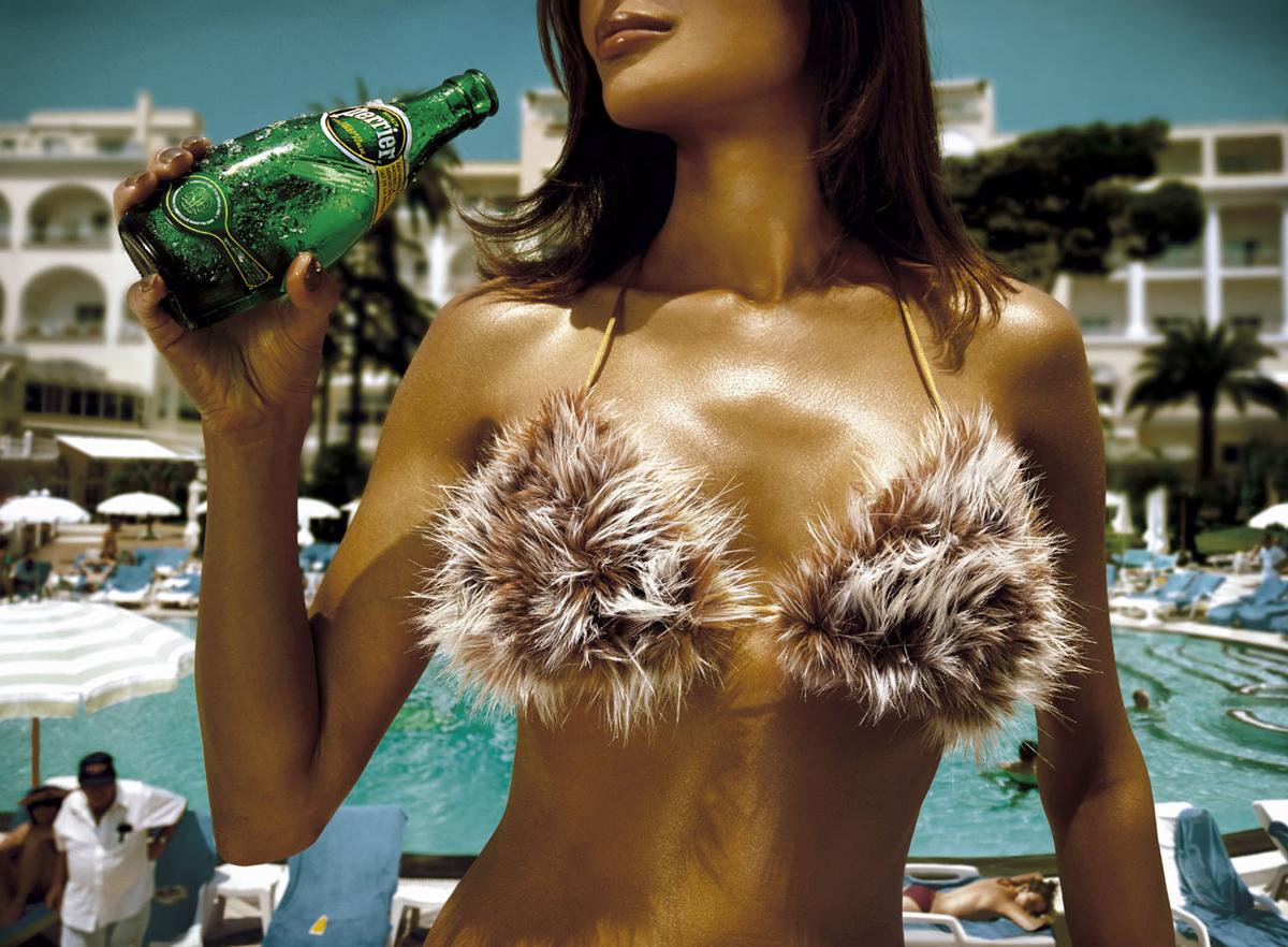 Perrier Print Ad -  Bikini