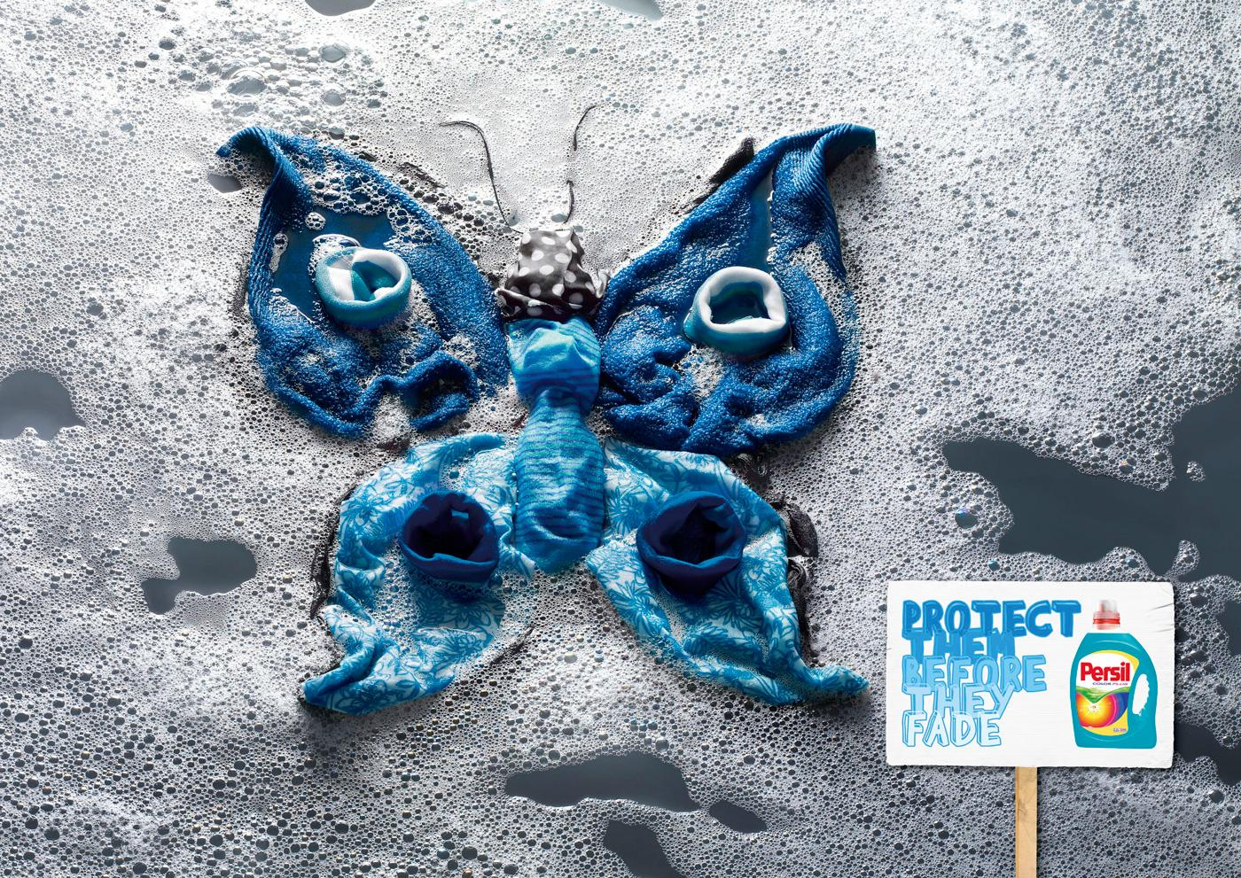 Persil Outdoor Ad -  Butterfly