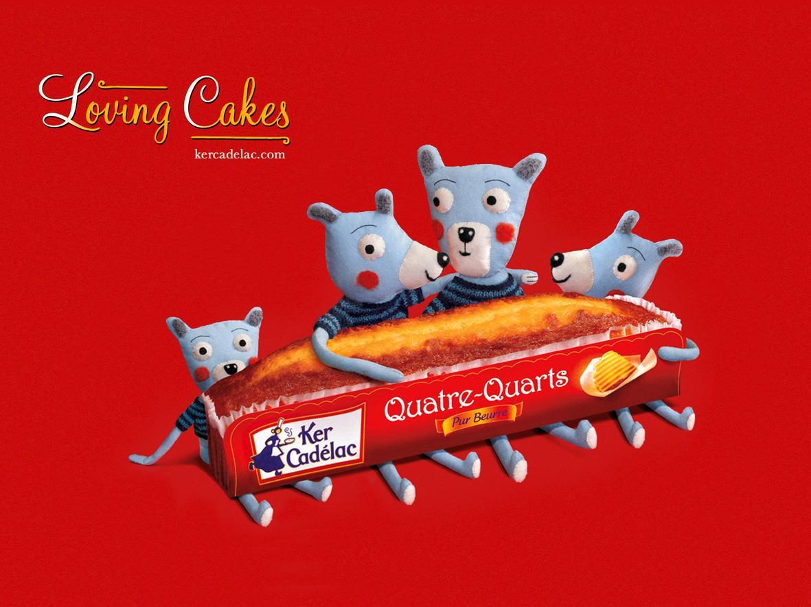 Kercadelac Outdoor Ad -  Loving cake, 2