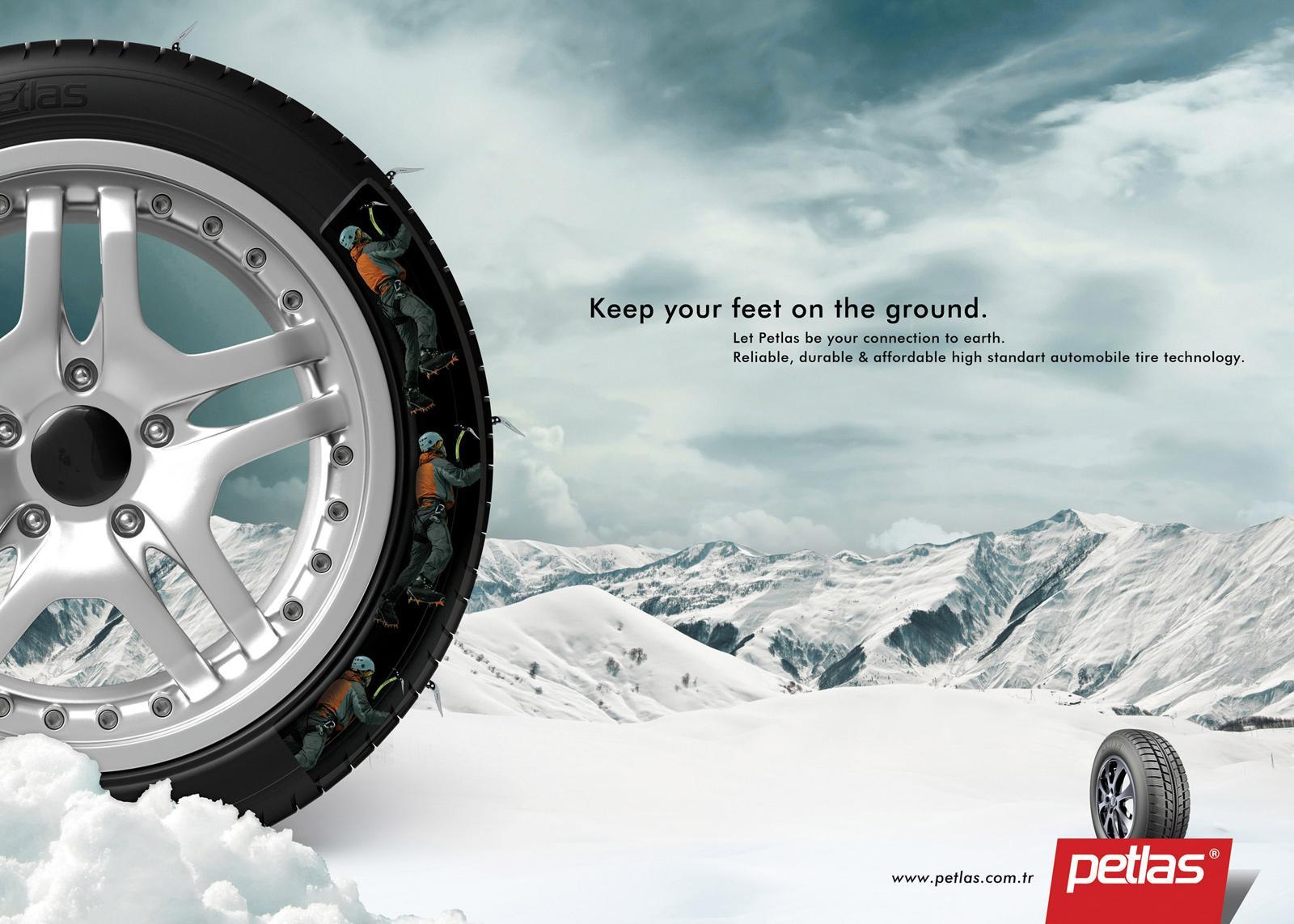 Petlas Tires Print Ad -  Mountaineer