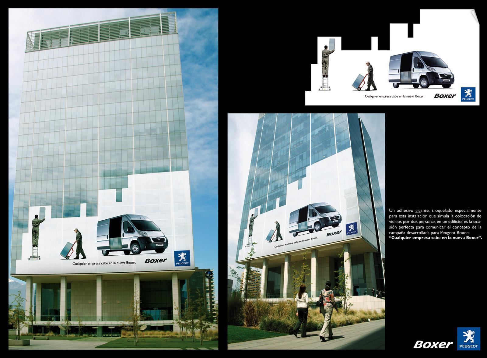 Peugeot Ambient Ad -  Windows
