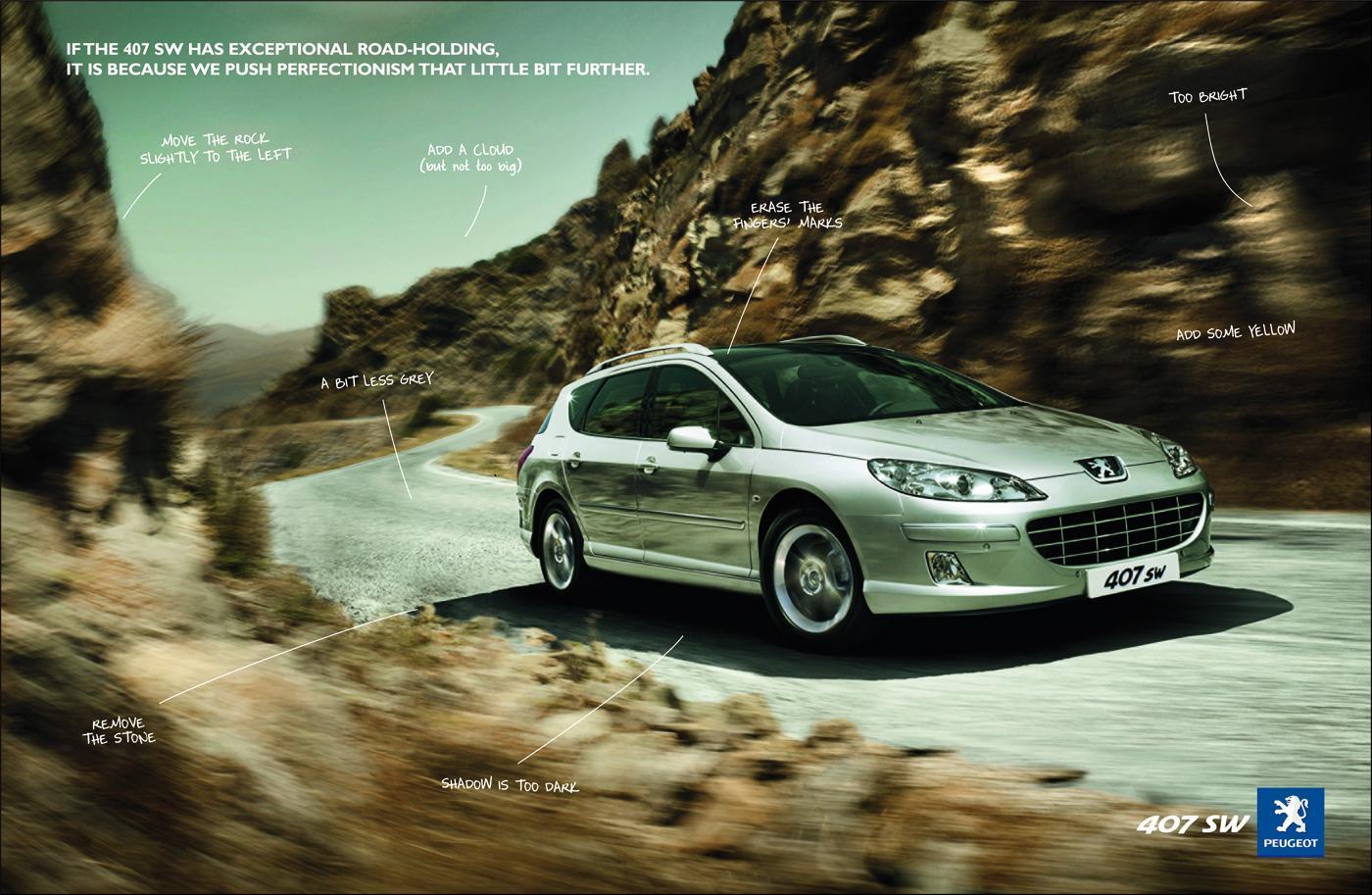 Peugeot Print Ad -  Retouch, 1