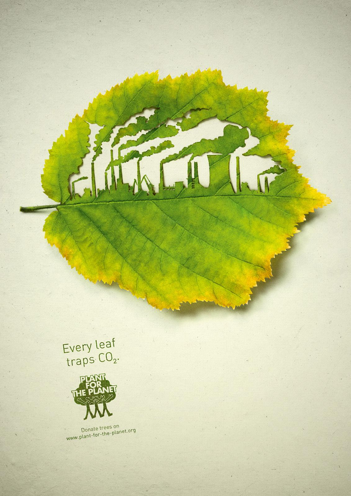 Plant for the planet Print Ad -  Factory