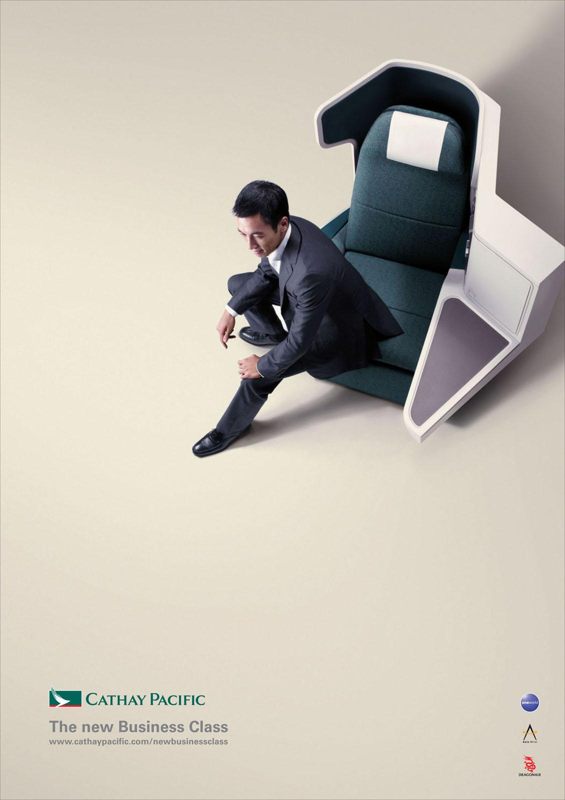Cathay Pacific Print Ad -  Phil