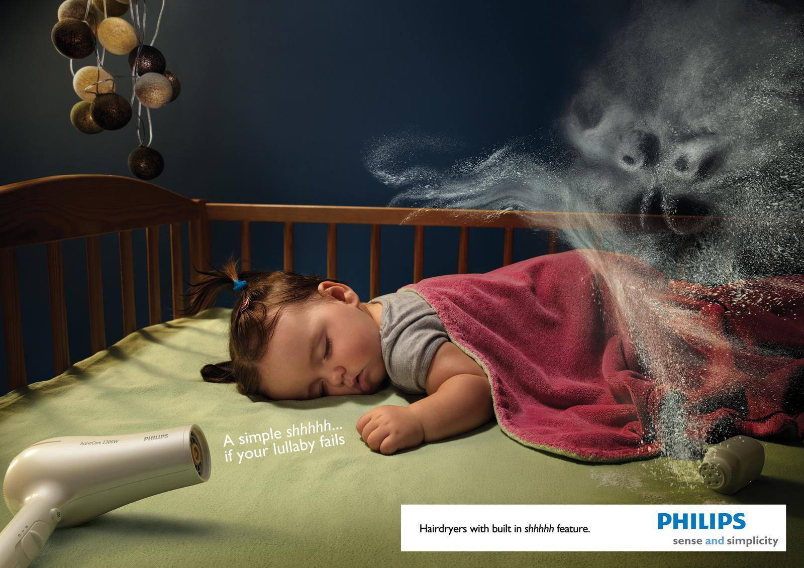 Philips Print Ad -  Shhhhh..., 2
