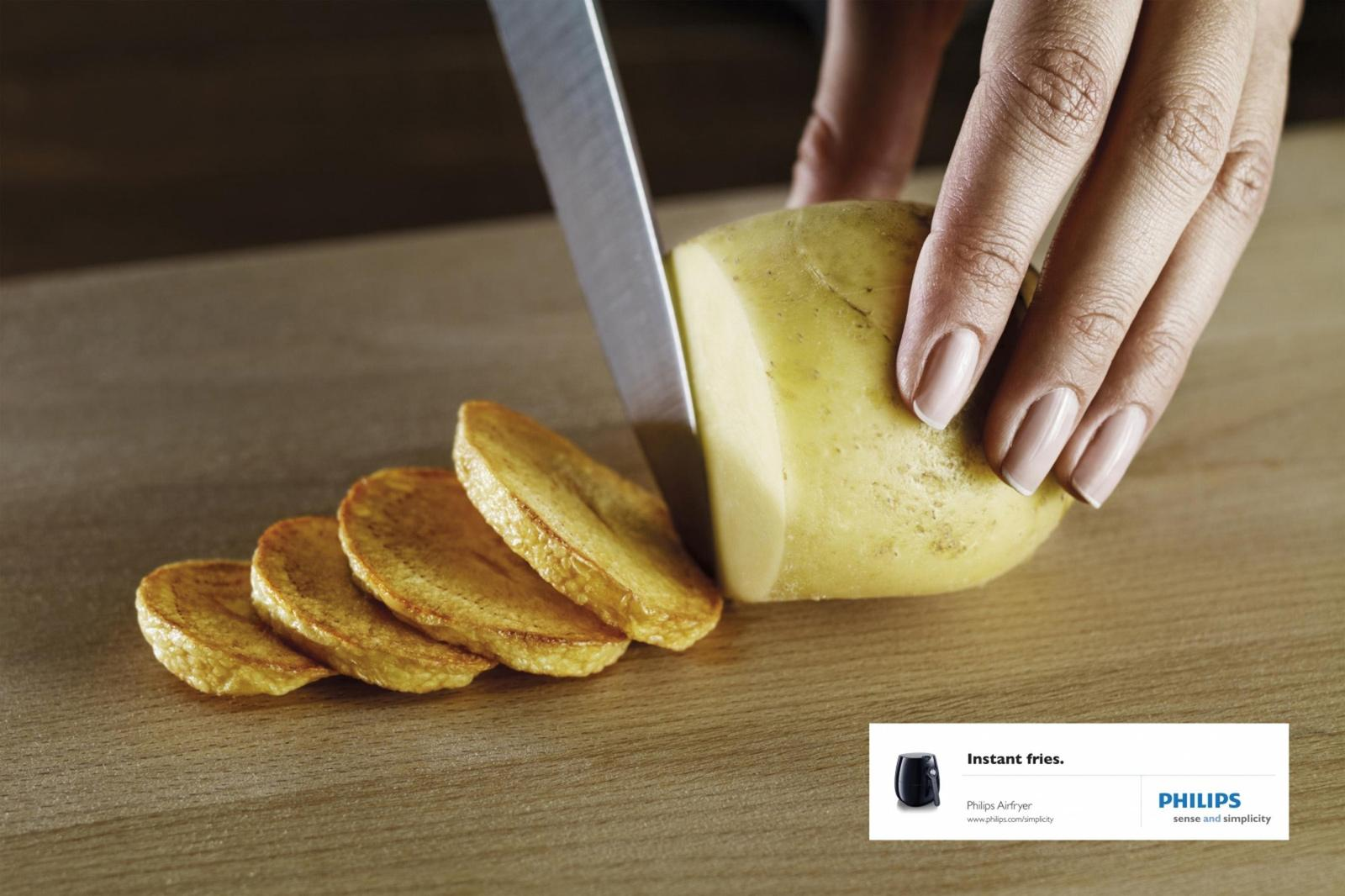 Philips Print Ad -  Potato