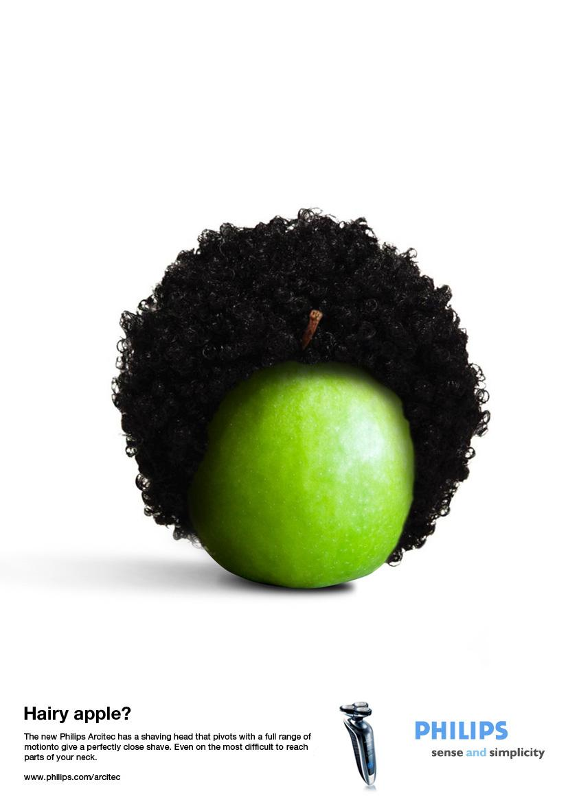 Philips Print Ad -  Afro