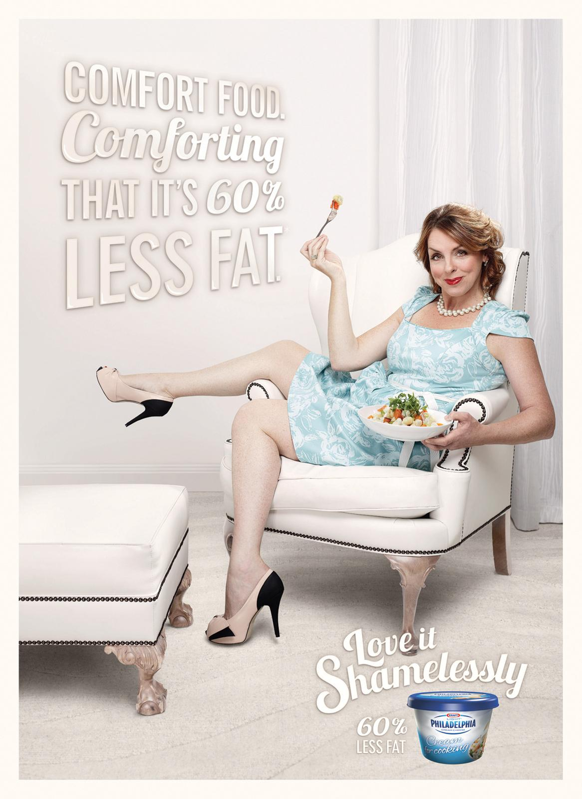 Philadelphia Print Ad -  Comfort food