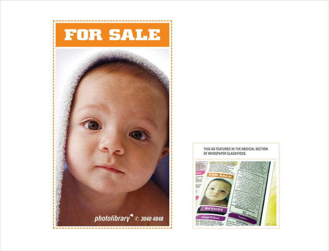 Photolibrary Print Ad -  Baby