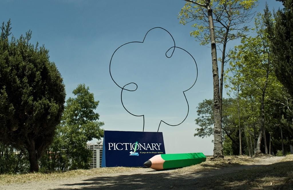 Pictionary Print Ad -  Tree