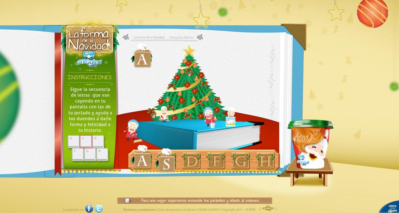 Arequipe Alpina Digital Ad -  The Christmas Shape