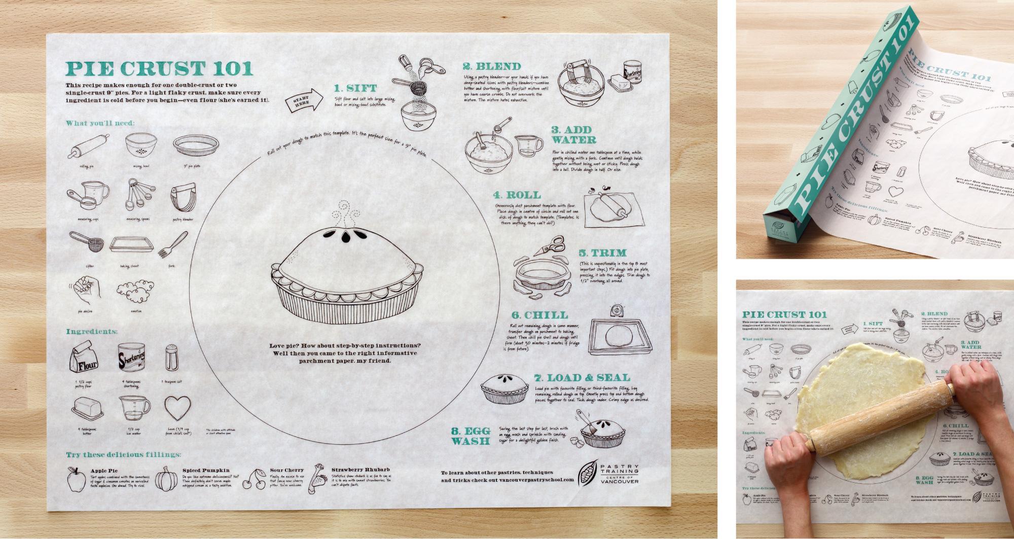 Pastry Training Centre Direct Ad -  Pie Crust 101