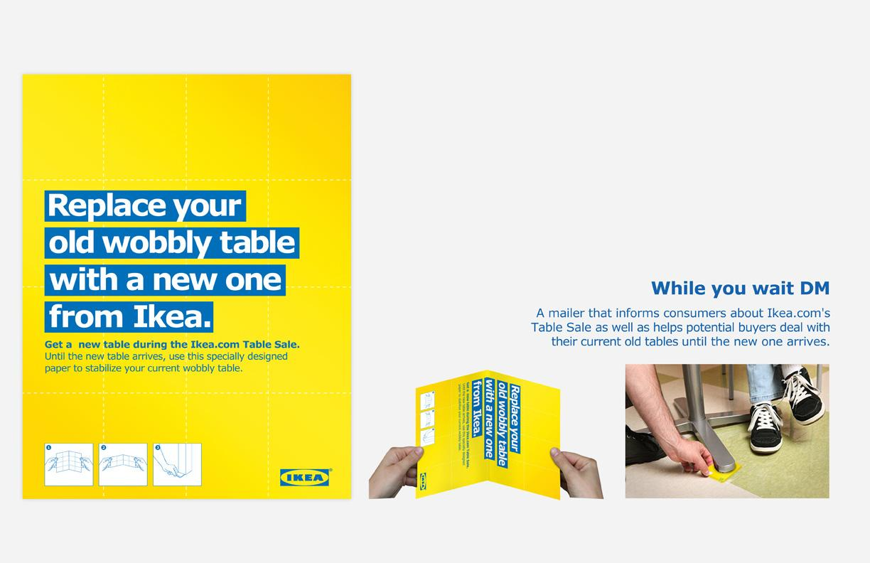 IKEA Direct Ad -  Stabilise your table