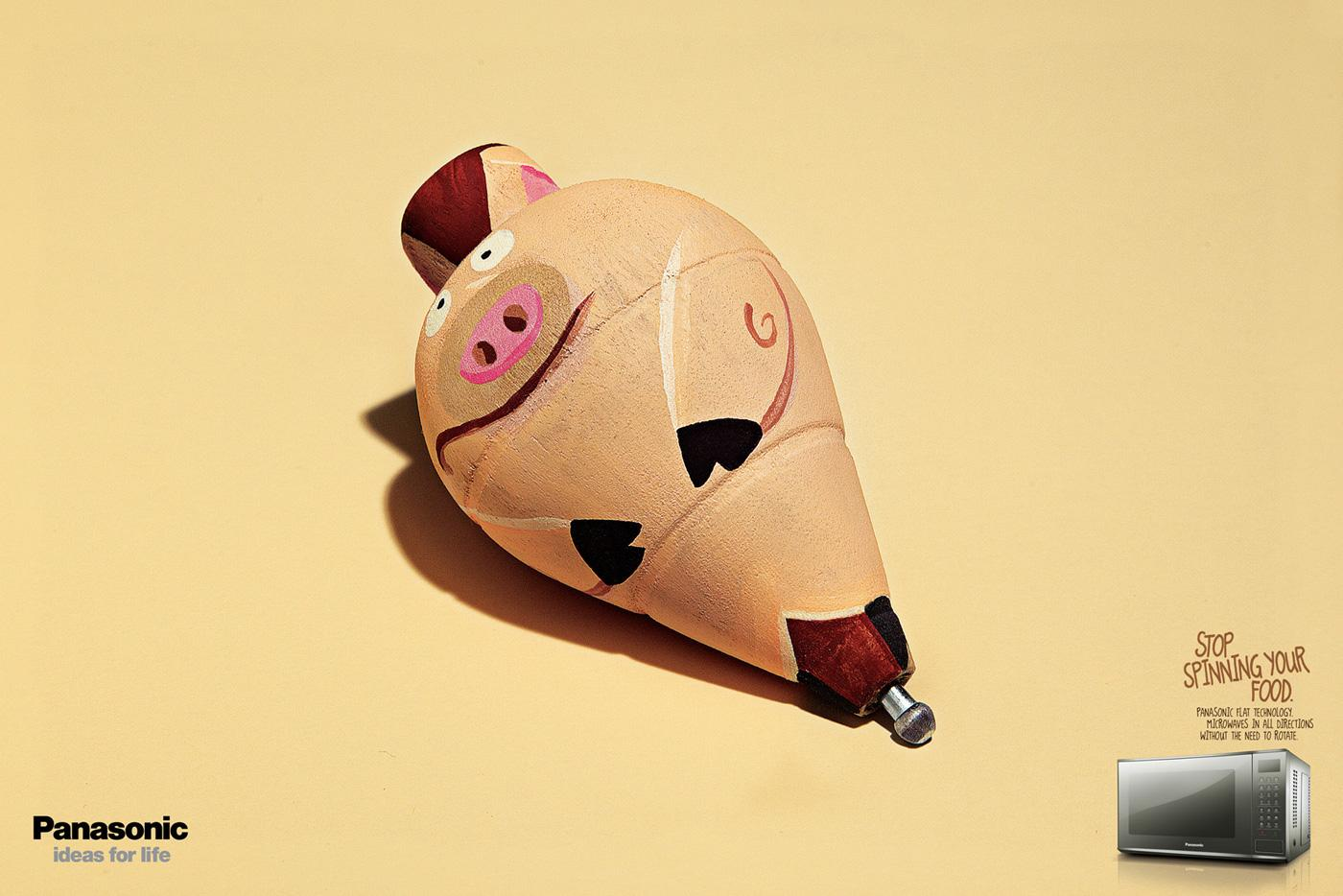 Panasonic Print Ad -  Pig