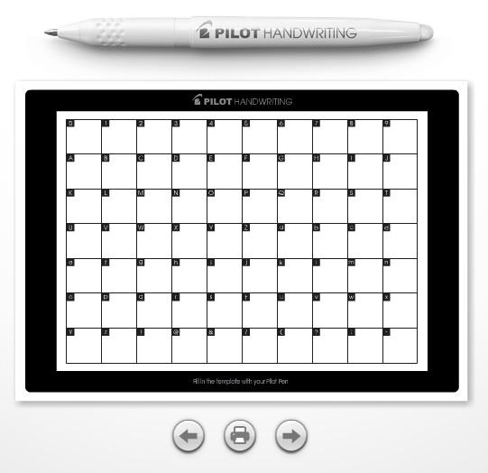 Pilot Digital Ad -  Handwriting App