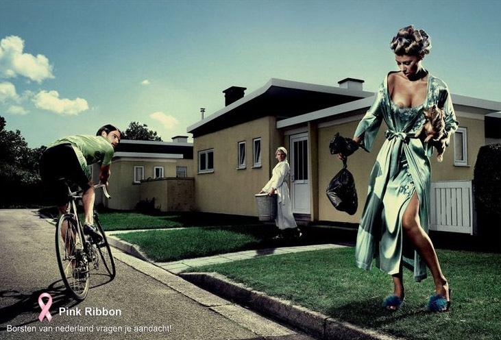 Pink Ribbon Print Ad -  Neighbour