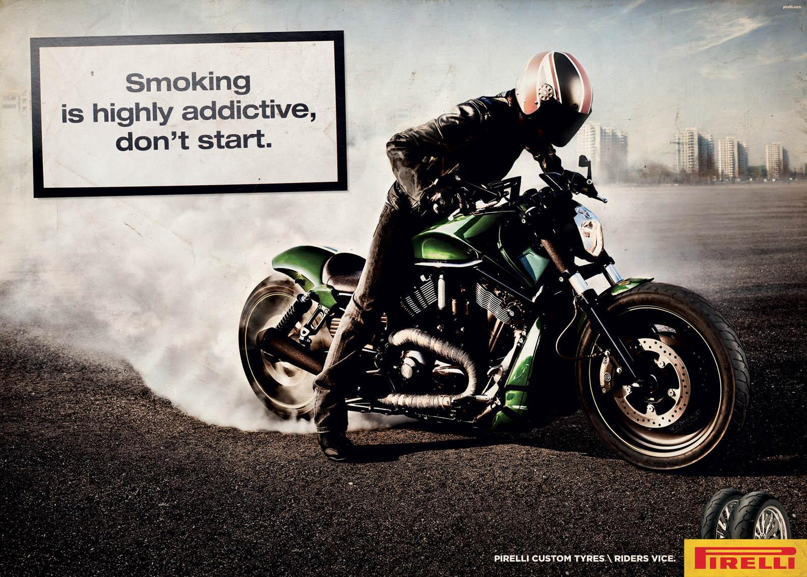 Pirelli Print Ad -  Smoke, 3