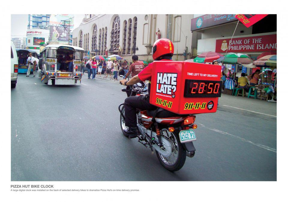 Pizza Hut Ambient Ad -  Time