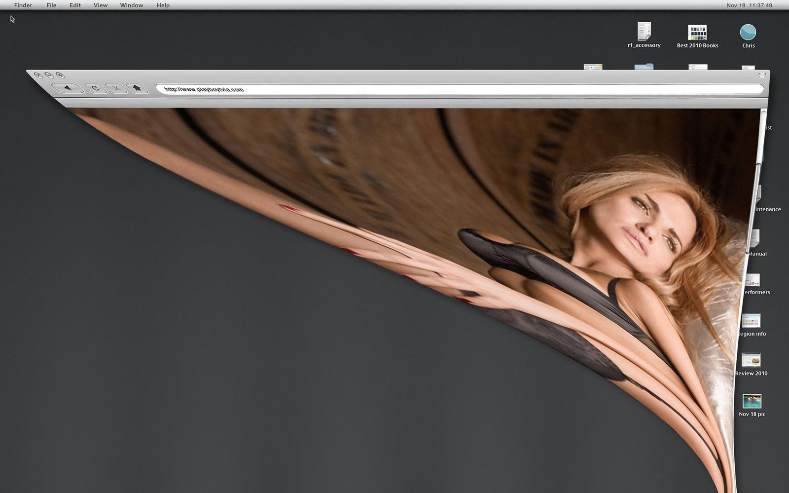 Playboy Print Ad -  Desktop