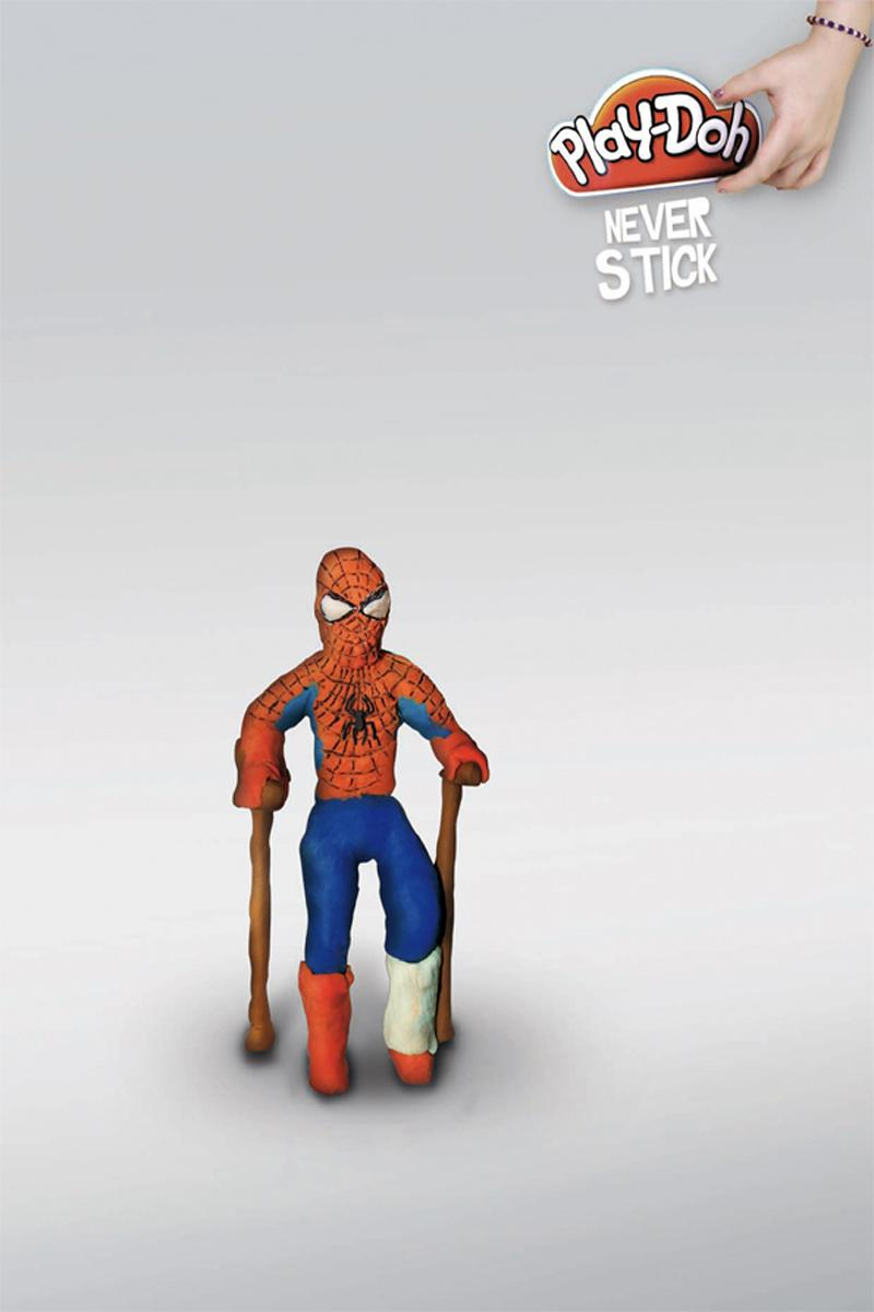 Play-Doh Print Ad -  Spiderman