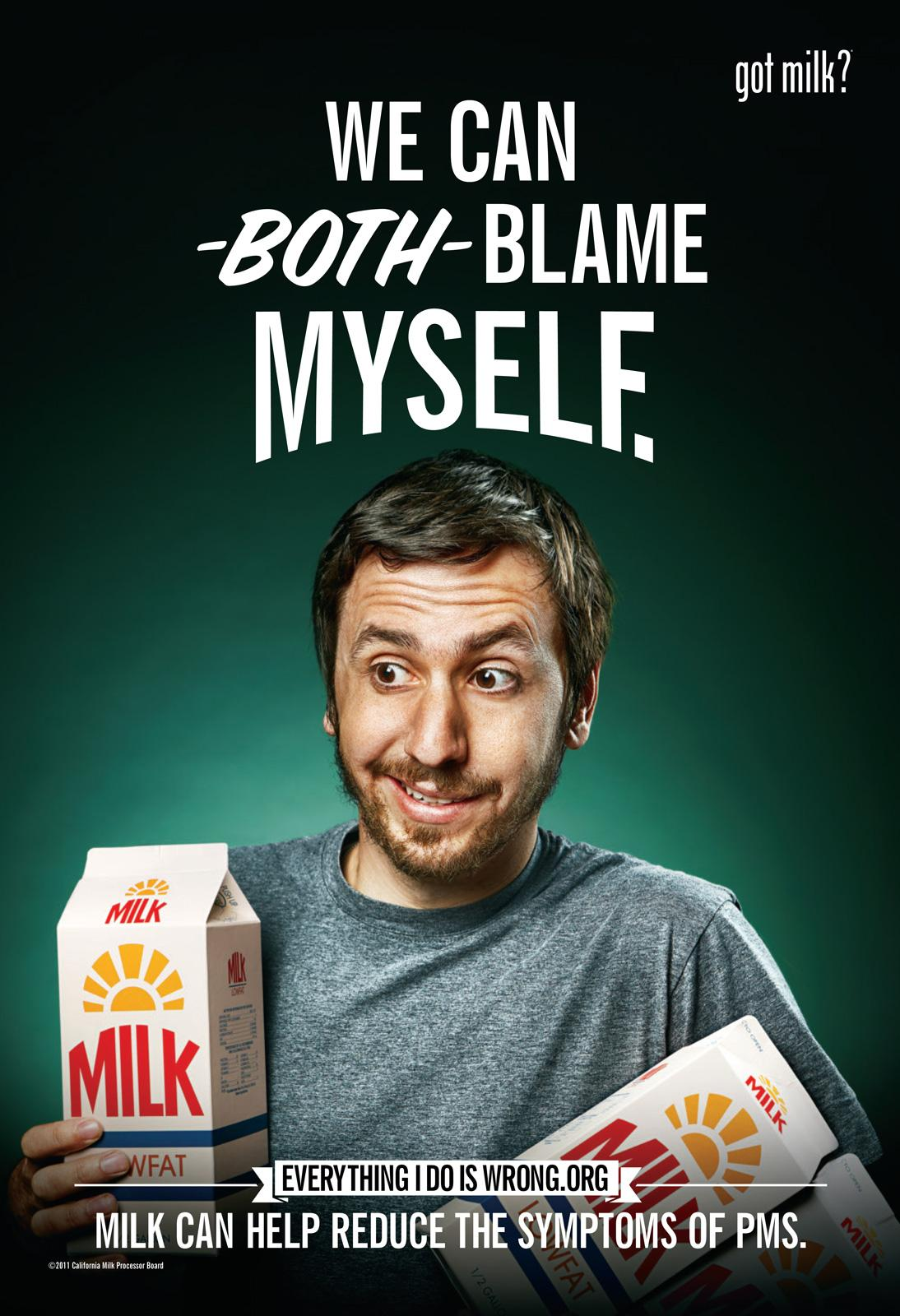 California Milk Processor Board Outdoor Ad -  Blame