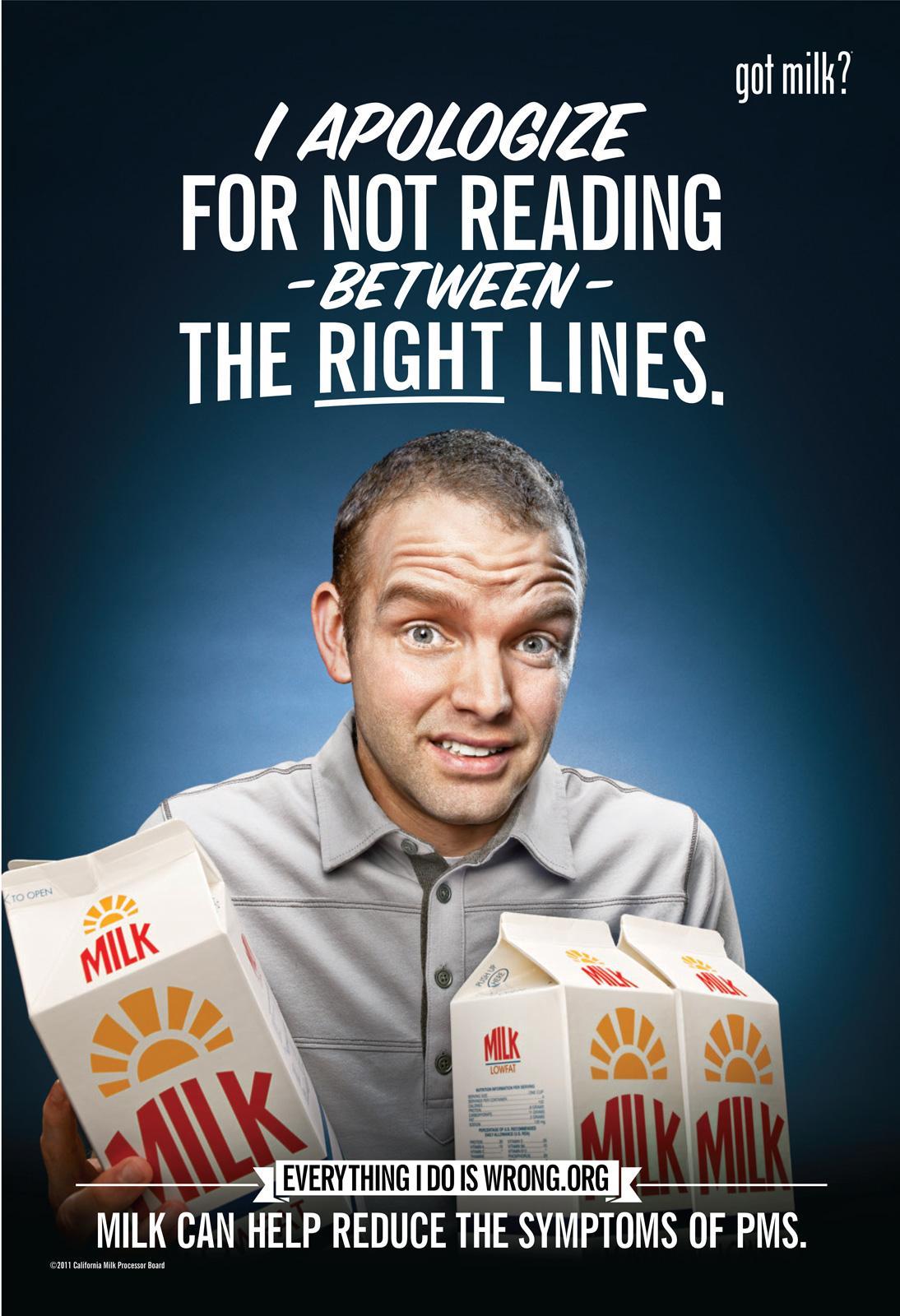 California Milk Processor Board Outdoor Ad -  Reading