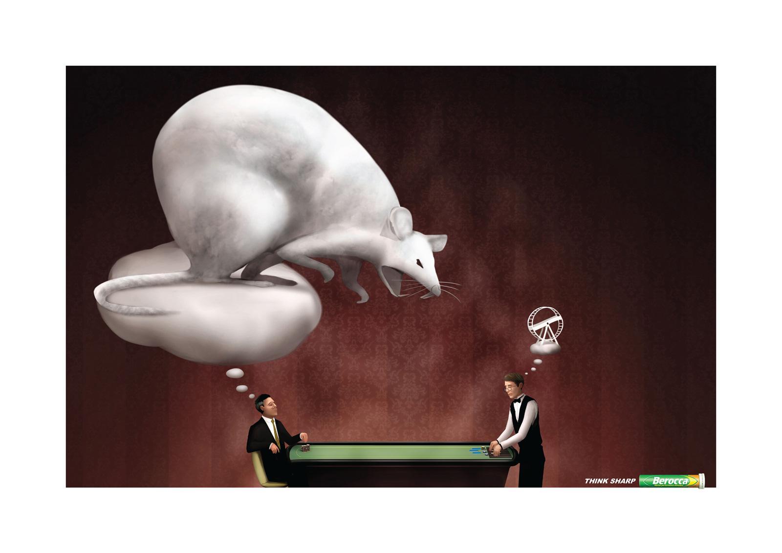Berocca Print Ad -  Poker