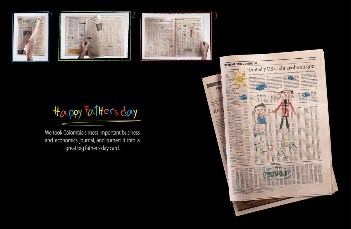 Portafolio Print Ad -  Father's Day