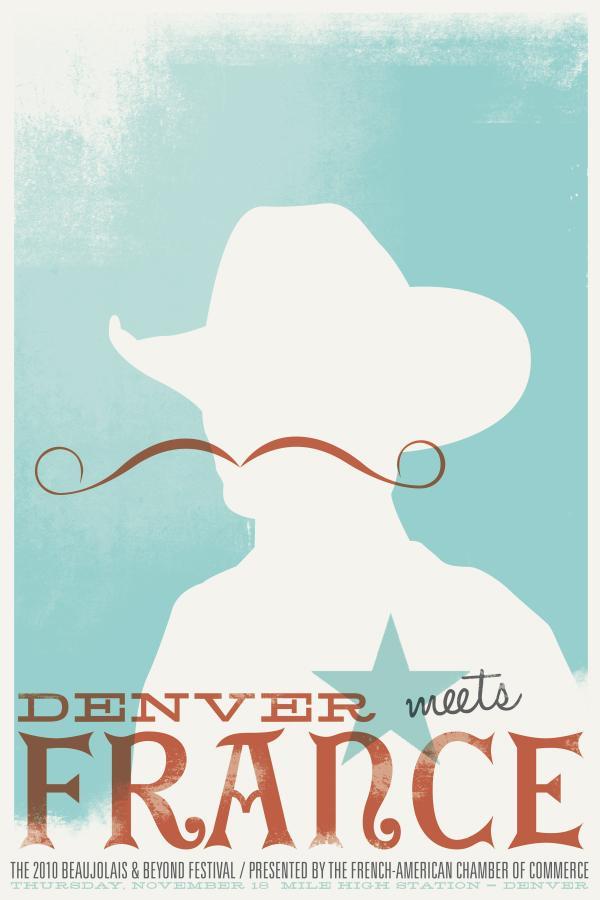 Beaujolais & Beyond Festival Print Ad -  Cowboy