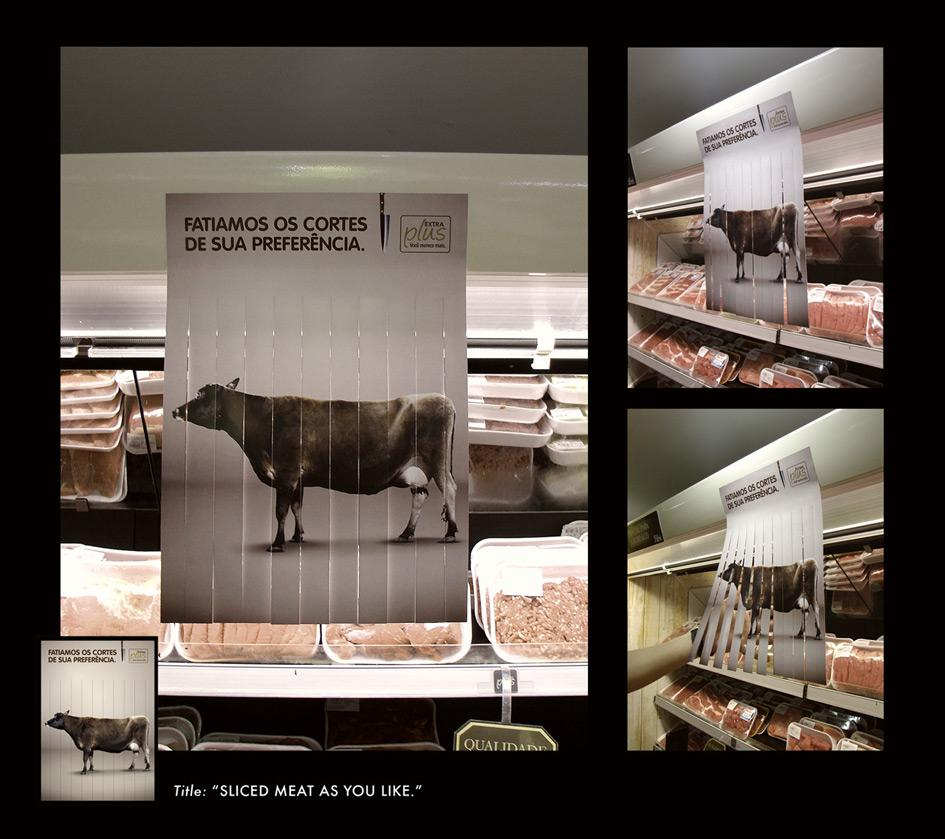 Extra Plus Supermarket Ambient Ad -  Sliced meat as you like, Beef