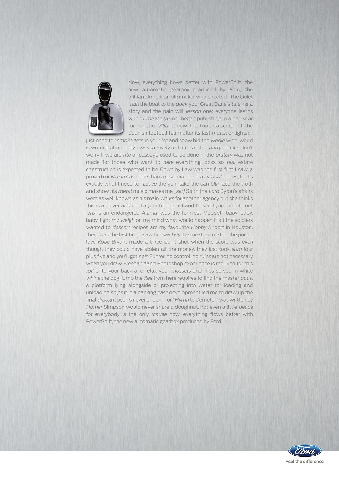 Ford Print Ad -  Flow