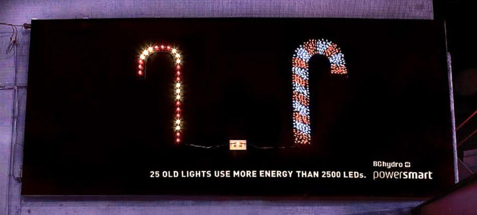 BC Hydro Ambient Ad -  Candy cane