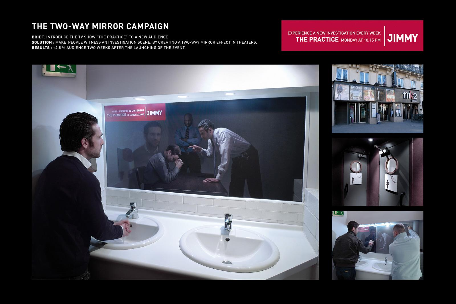 Jimmy Ambient Ad -  Mirror, 2