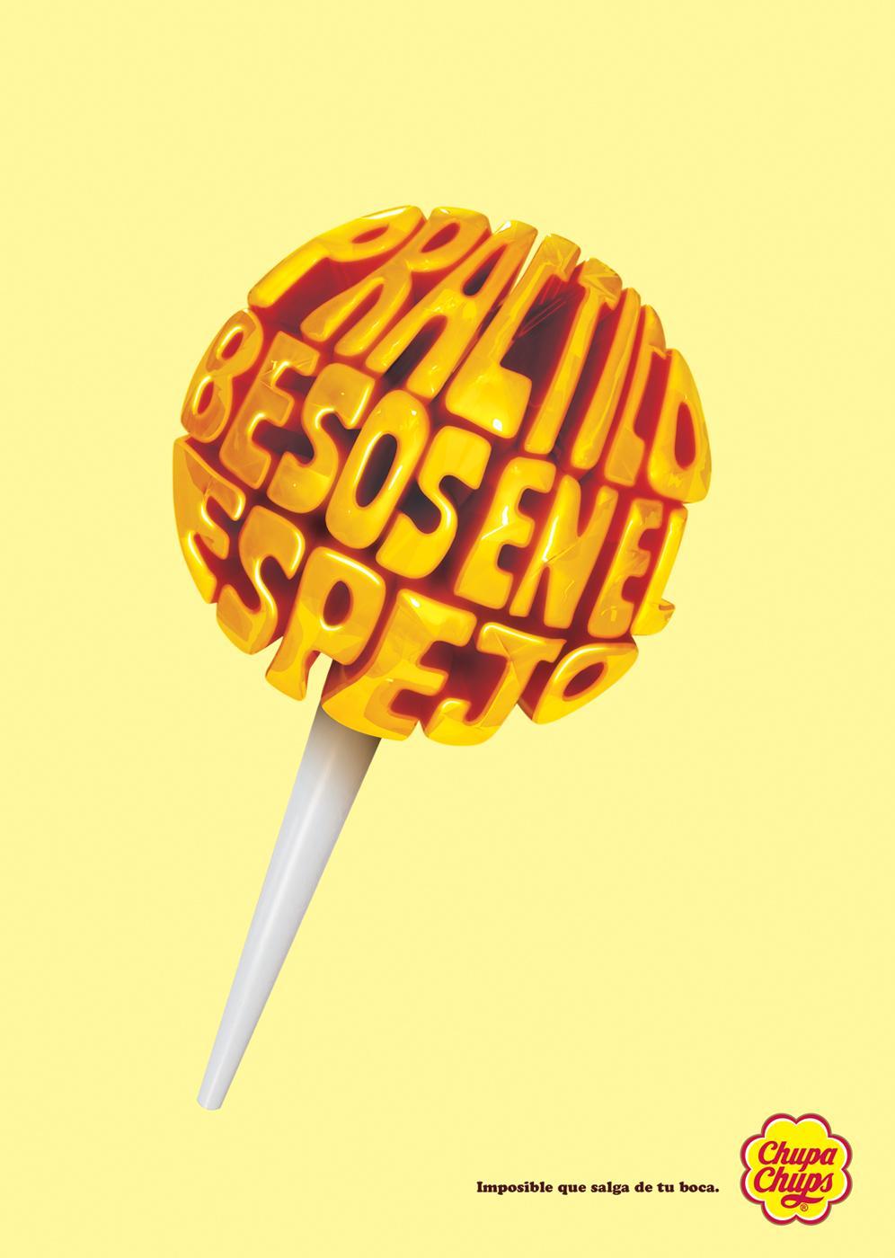 Chupa Chups Print Ad -  Lollypops, 3