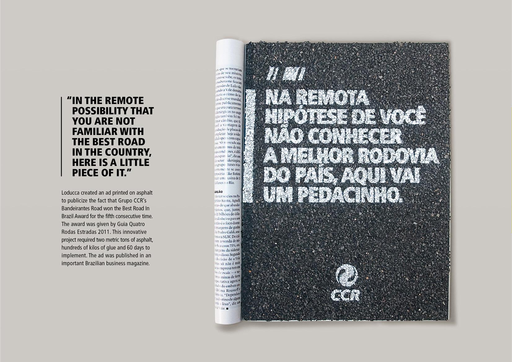 CCR Print Ad -  Asphalt