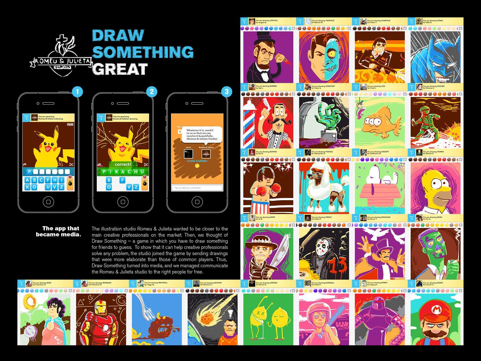 Romeu&Julieta Studio Digital Ad -  Draw something great