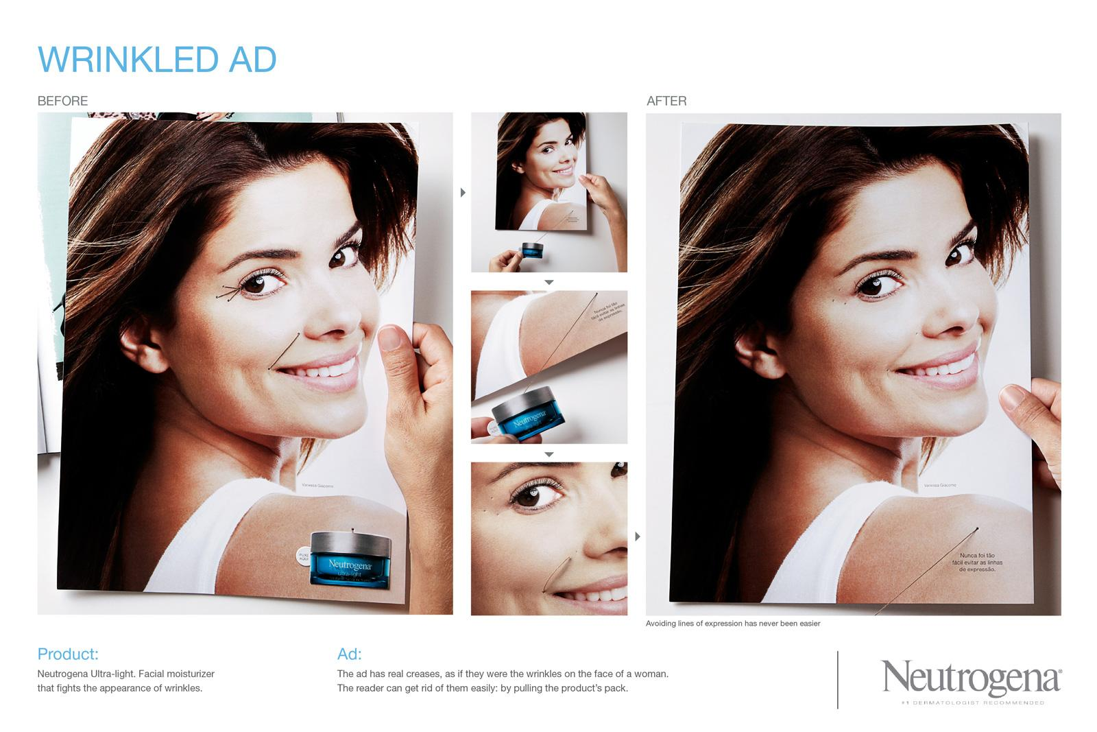 Neutrogena Direct Ad -  Wrinkled ad